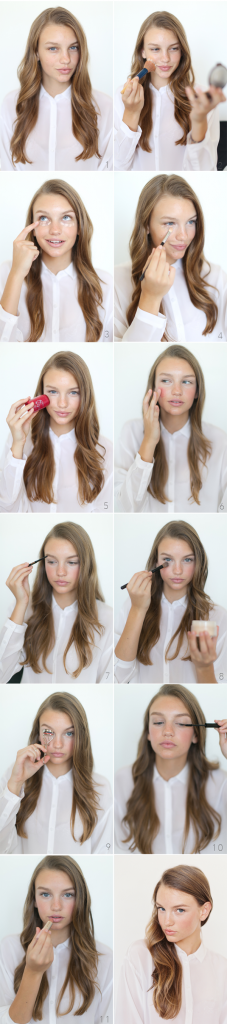tuto pour un maquillage frais en 5 minutes