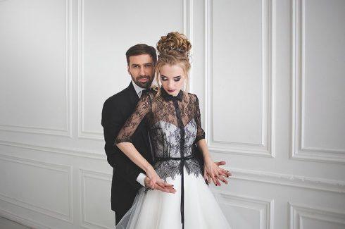 Robe de mariée thème halloween