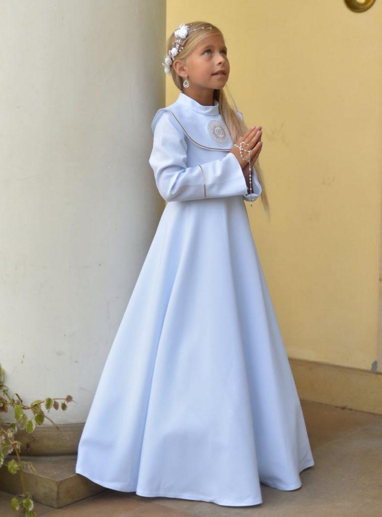 Aube de communion fille