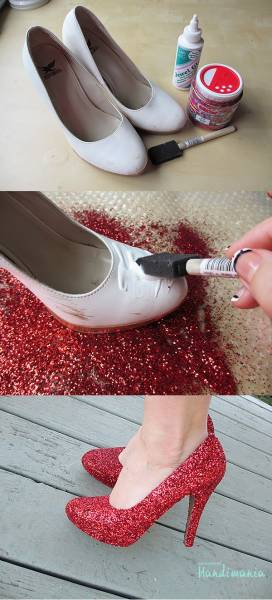 Customiser-ses-chaussures-paillettes