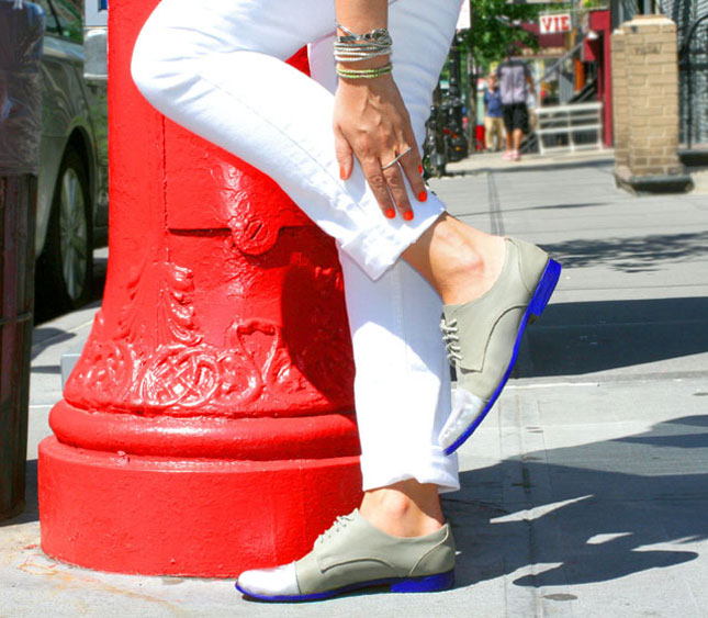 Customiser ses chaussures semelles peinture