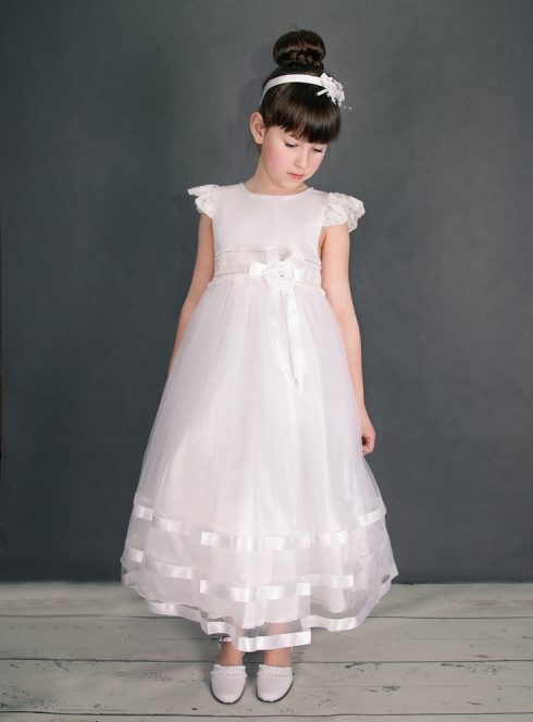 Robe de communion Prescillia