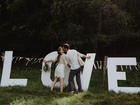 Petit mariage intime