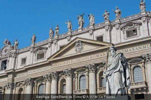 Rome Basilique StPierre