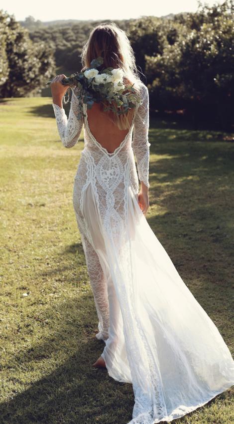 Seconde robe de mariée