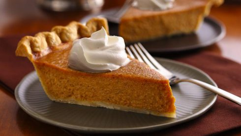Thanksgiving repas PumpkinPie