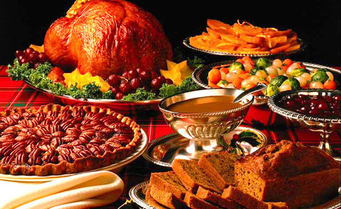 Thanksgiving repas