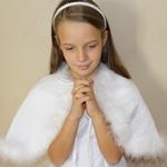 Accessoires pour tenue de communion fille