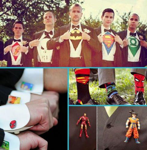 accessoires super héros