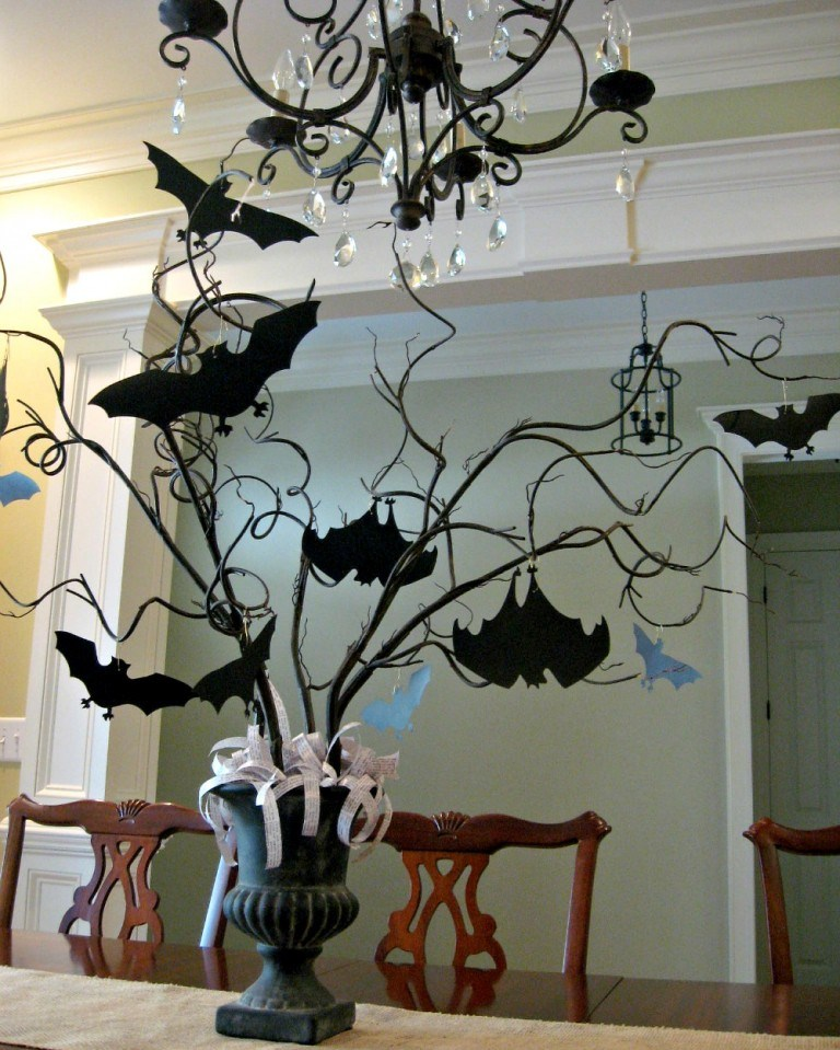 D coration table halloween parfaite comment faire blog - Decoration de table halloween ...