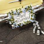 boites conserves voiture mariage