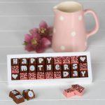 boites de chocolat fêtes des méres