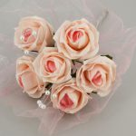 bouquet artificiel boutique magique rose