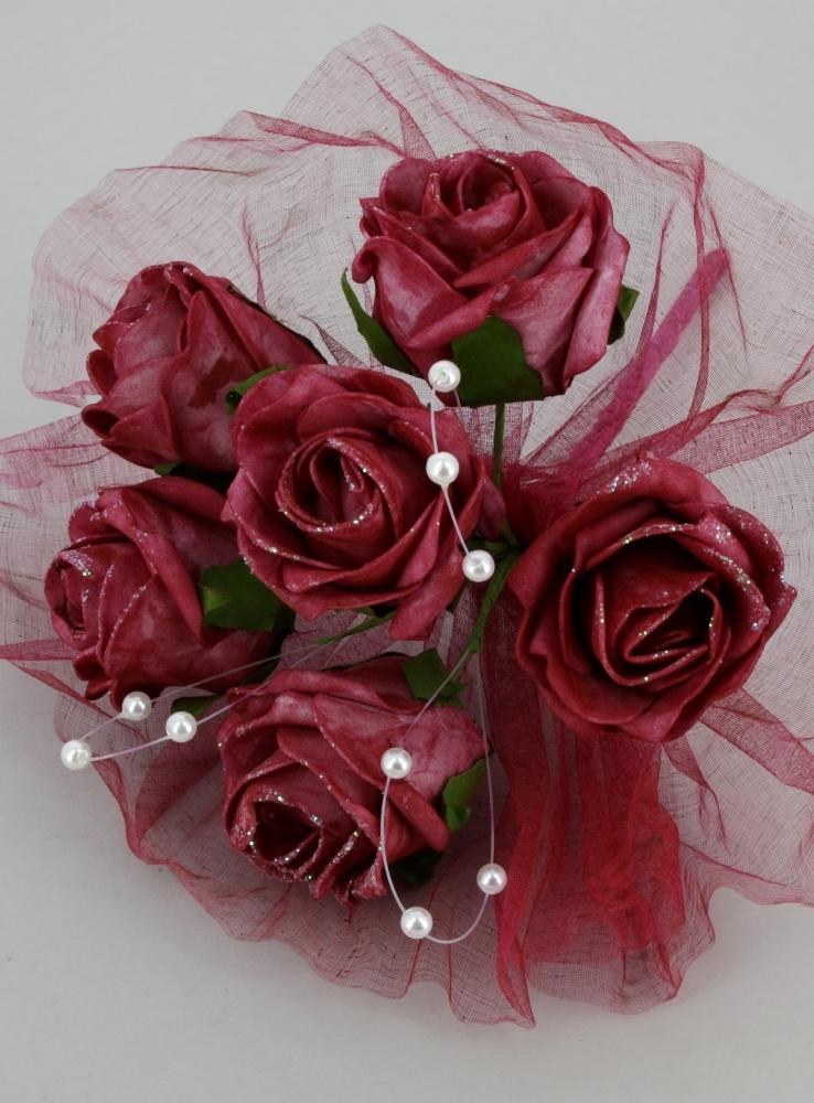 bouquet artificiel boutique magique rouge blog boutique magique. Black Bedroom Furniture Sets. Home Design Ideas