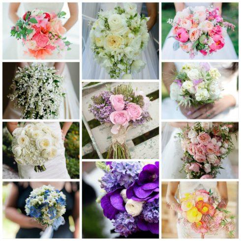 bouquet de mariage fleurs printemps