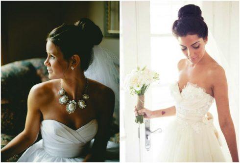 coiffure mariée avec voile