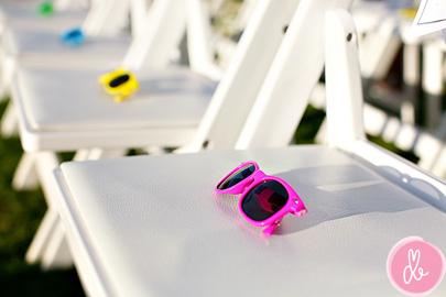Cadeau pour invité de mariage : lunettes fun