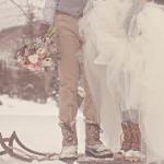 5 idées festives pour un mariage à Noël