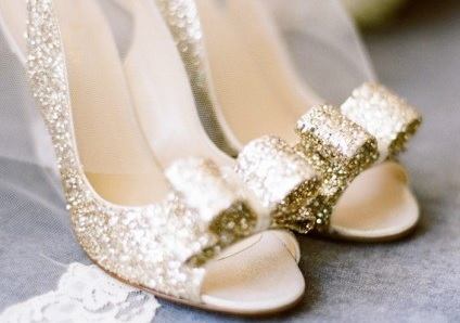 chaussures mariage paillettes