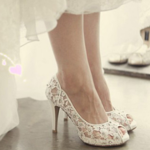 Quelle chaussure pour ma robe blanche ?