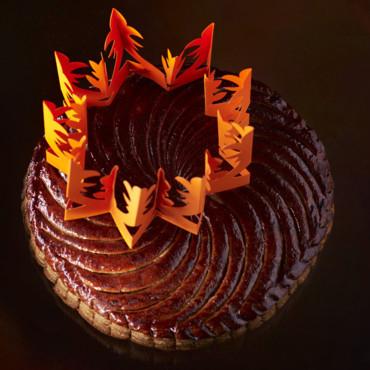 Gâteau des rois chocolat