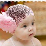 coiffure bonnet rose bapteme