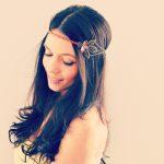 coiffure demoiselle dhonneur headband bohème
