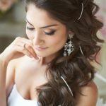 coiffure mariage cheveux longs dtachs