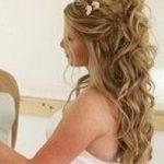 coiffure mariee cheveux longs detaches