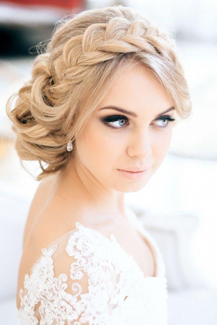 Coiffures de soirГ©e et de mariage avec des tresses