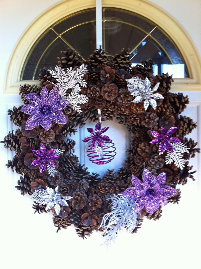 Decorations Violettes Noel
