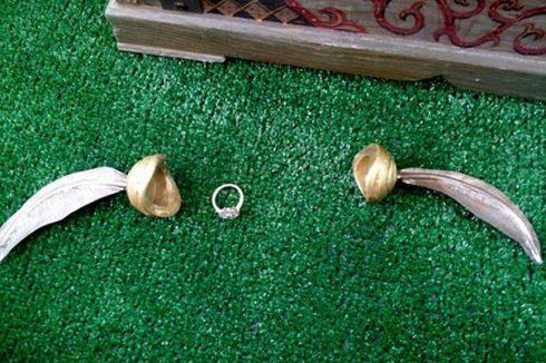 demande en mariage harry potter