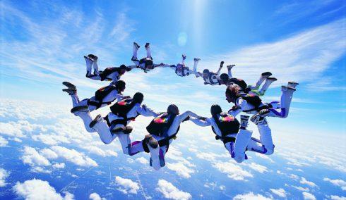 evjf sautparachute