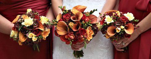 bouquet de mariée thème Halloween