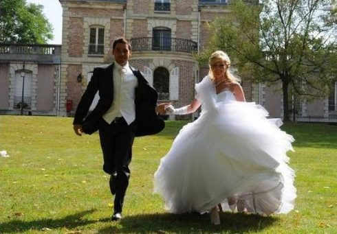 gauche du marié