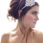 headband perles mariage