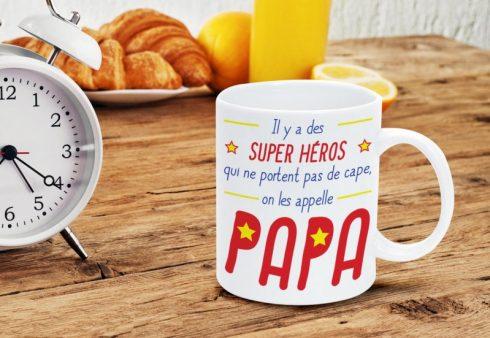 idee cadeau fete des peres mug papa