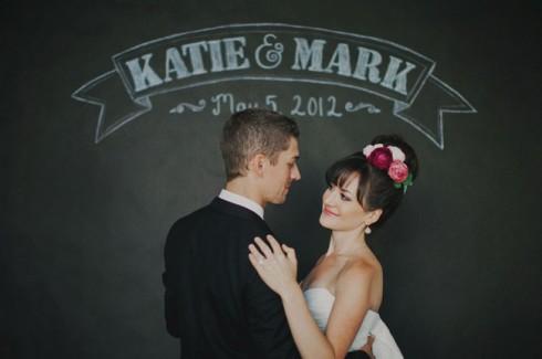 idée de photo pour immortaliser la date du mariage