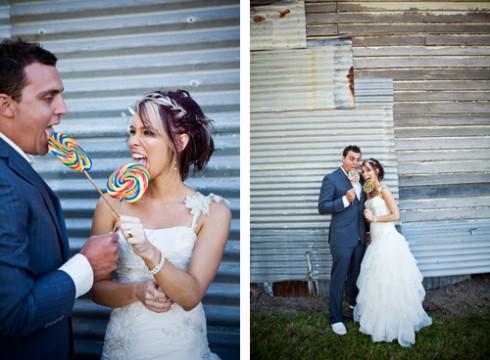 photo des mariées gourmands