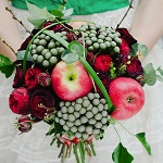 Bouquet de mariée fruit