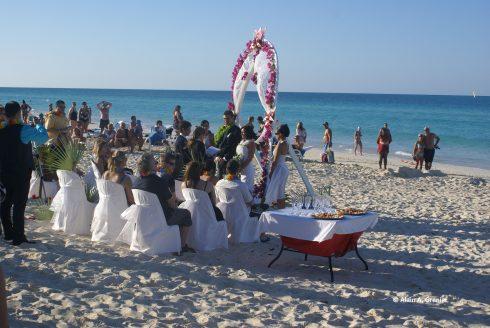 l'inconvénient d'un mariage à la plage