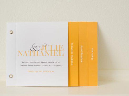 livre de messe à ongler jaune