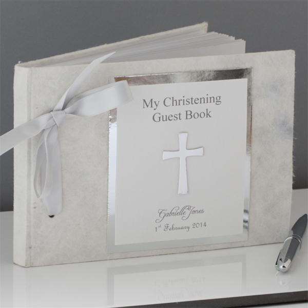 livre de baptême croix