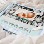 livre de baptême photos