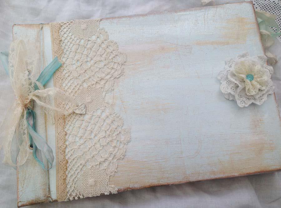 livre de baptême vintage