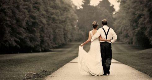 mariée à gauche mariage