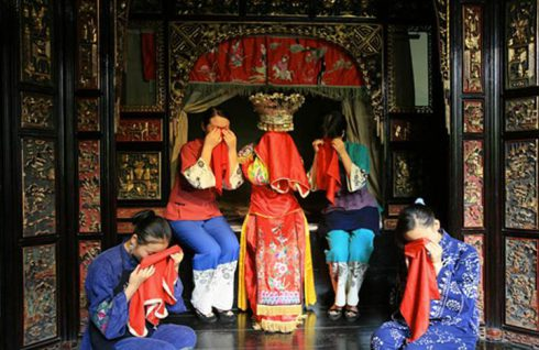 mariage chine pleurs