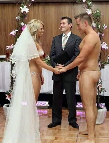 mariage tout nu naturiste