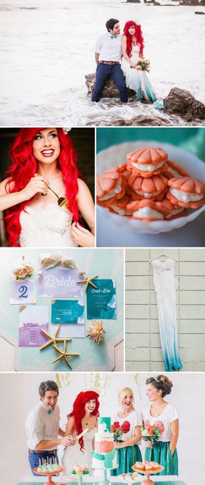 mariage petite sirène