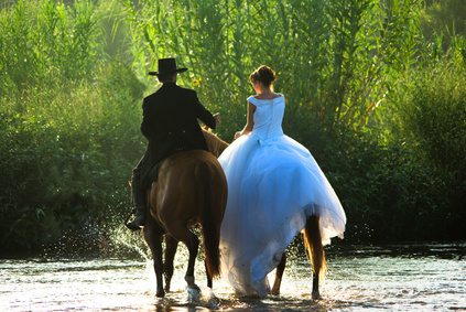 Mariage à cheval